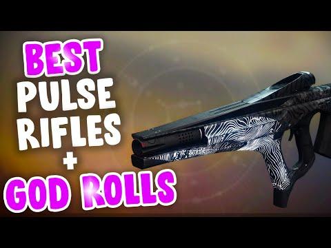 Top 5 Pulse Rifles! Destiny 2 Season Of Dawn Best Pulse Rifles