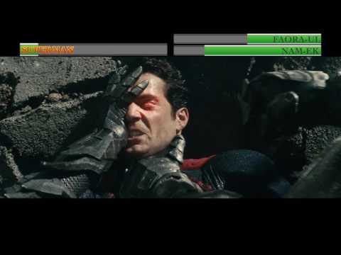 Superman vs Faora-Ul and Nam-Ek...with healthbars