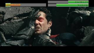 Superman vs Faora-Ul and Nam-Ek...with healthbars