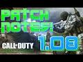 [HUGE] MWR UPDATE! 1.08 PATCH NOTES in Modern Warfare Remastered! (CoD MWR 1.08 Update/Patch Notes)
