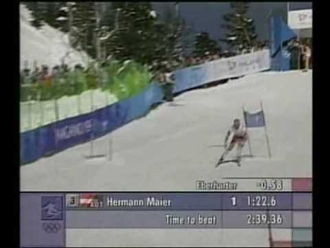 Herman Maier Nagano 1998 Winter Olympics Downhill Crash,Slalom gigant Winner