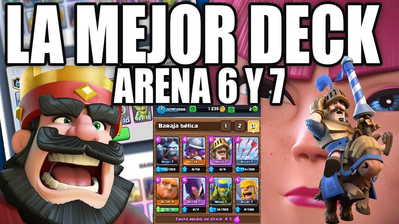 La mejor deck de clash royale subir a arena 7 facilmente for Clash royal deck arene 7