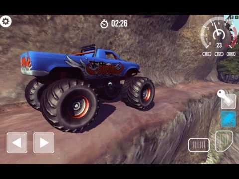 Monster truck hill simulator For Android