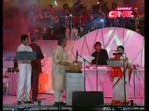 sonu n lata live with A R REHMAN