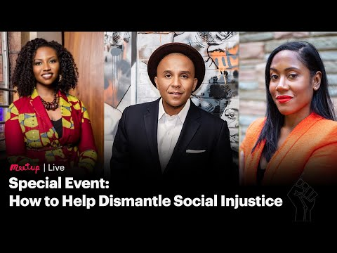 Recording: Special Event, How to Help Dismantle Social Injustice
