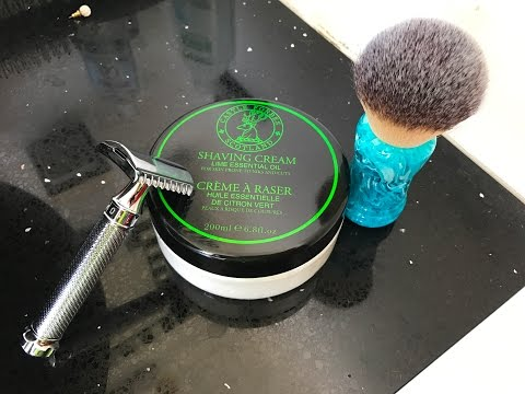 Castle Forbes Lime Essential Oil Head Shave review!