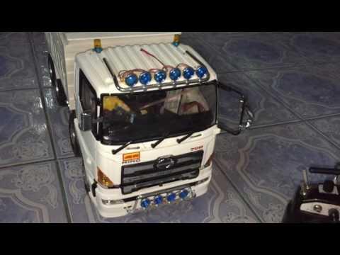 รถดั้ม 12 ล้อ ฮิโน่ 700 บังคับ By Pae Rcubon