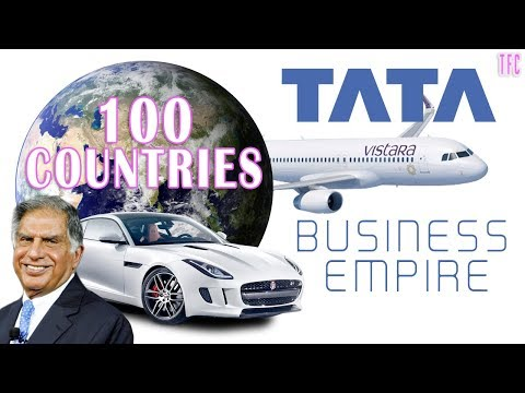 Tata's Business Empire (100 Countries) | Ratan Tata | How big is Tata?