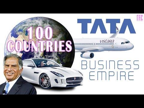 Tata's Business Empire (100 Countries) | Ratan Tata | How Big Is Tata?