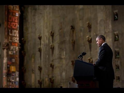 President Obama Speaks at 9/11 Museum Dedication
