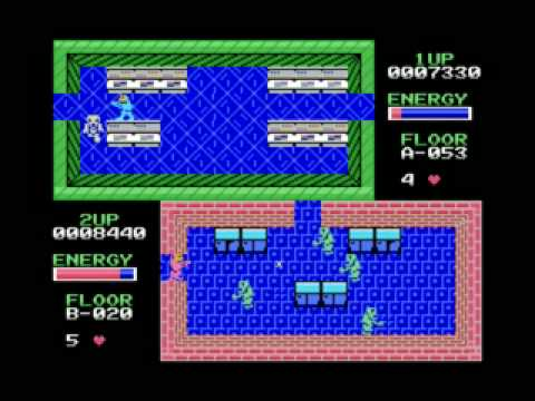 Retrogaming: Zombie Near, an action game