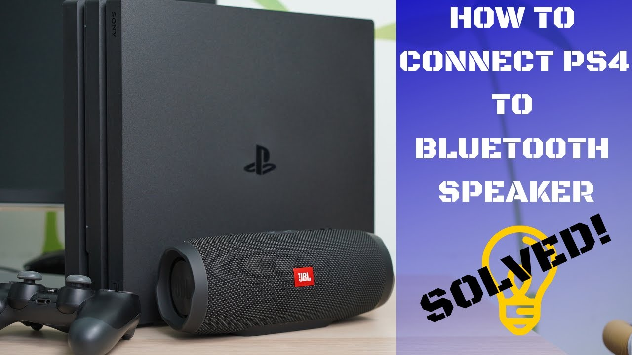 How to connect Bluetooth Speaker to PS9. SOLVED!