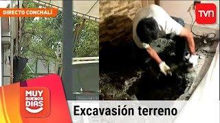 Caso Fernanda Maciel: ¿Qué encontraron en excavación de terreno en Conchalí?  | Muy buenos días thumbnail