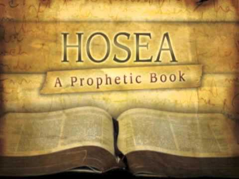Hosea the Prophet, January 25, 2016