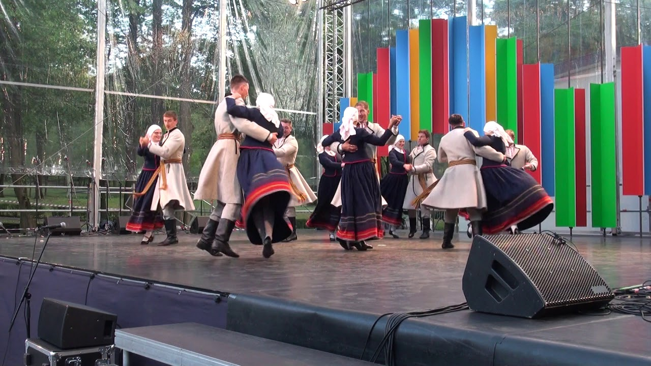 "IX International Folk Dance Festival ""Sudmaliņas""Opening concert RIGA  10 07 2019"