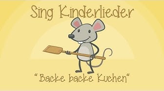 Backe, backe Kuchen - Kinderlieder zum Mitsingen | Sing Kinderlieder