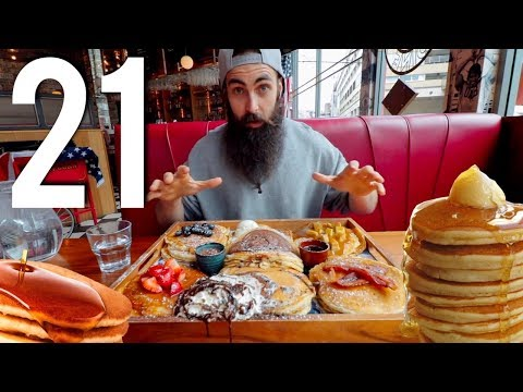 The Infamous 21 Pancake Challenge & My New Camera  Chronicles of Beard Ep34