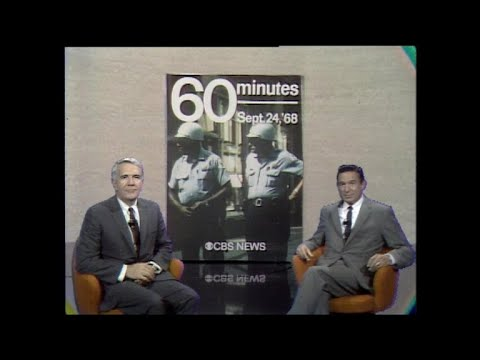 """1968 opener for 60 Minutes, """"a kind of a magazine for television"""""""