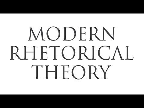 1. Theory -  Modern Rhetorical Theory