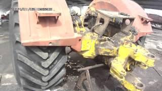 Заміна задньої підлозі-рами і пром-опори трактора К-700А