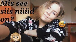 MINU ESIMENE VIDEO! // MY FIRST YOUTUBE VIDEO!