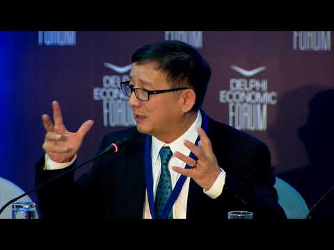 Cheng Li in conversation with Marilena Koppa | Delphi Economic Forum 2018
