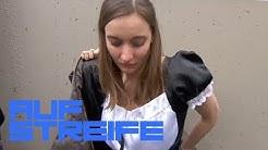 S*xy Hausmädchen Kostüm beim WG-Casting: Warum weint sie? | Auf Streife | SAT.1 TV