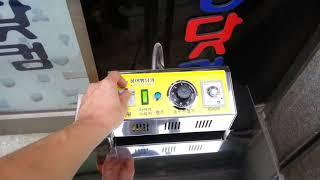 누룽지기계 자동화 기계입니다.01082002927