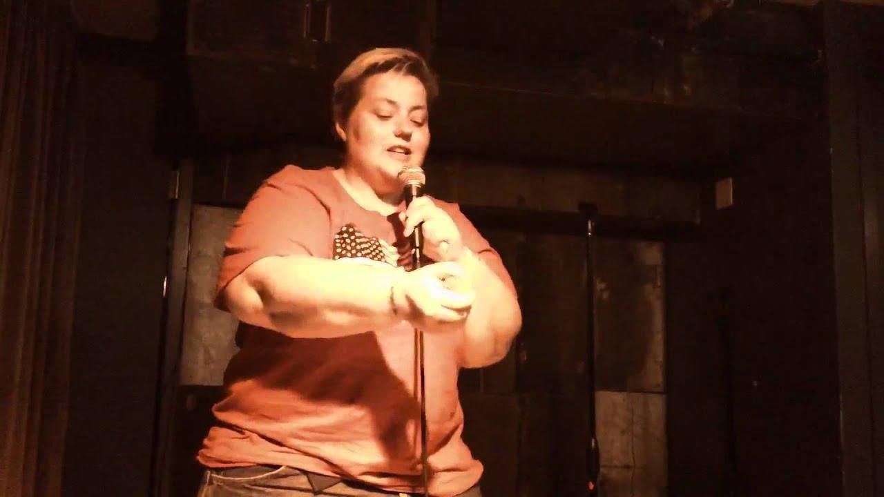 Comedian Kelli Dunham @ Gay Pride Week Queer Apple Fundraiser Extravaganza