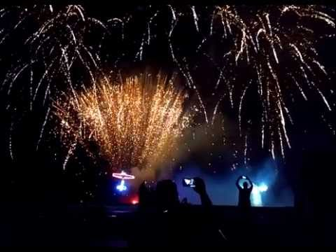 XFC Fireworks and aerial light show Champaign Il