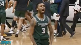 Cleveland State scores last-second alley-oop, a breakdown