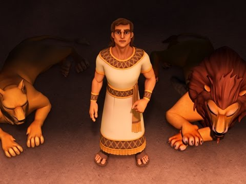 Superbook - Episode 7 - Roar! - Full Episode (Official HD Ve