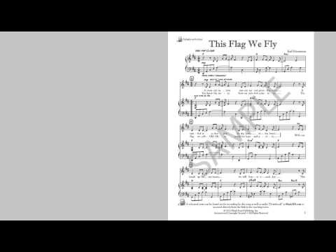 This Flag We Fly - MusicK8.com Singles Reproducible Kit