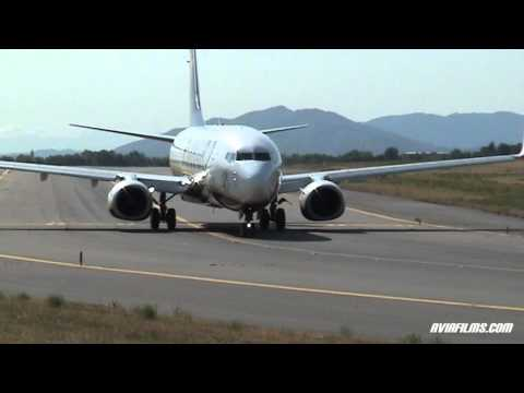 Plane Spotting: airplane take-off, landing and taxi Travel Video