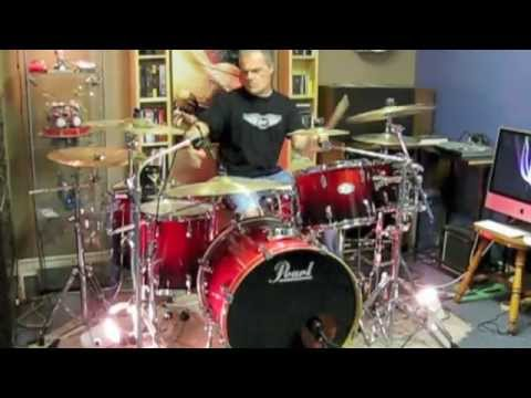 Dont Stop Believing - Journey - Drum Cover By Domenic Nardone