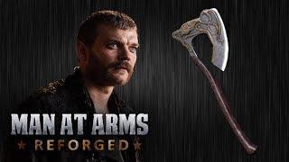 Euron Greyjoy ' s Axe - Game of Thrones - MAN-AT-ARMS: nun wie vorgesehen umgeschmiedet