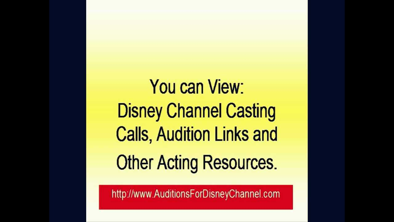 How to Find Disney Channel Auditions and Casting Calls