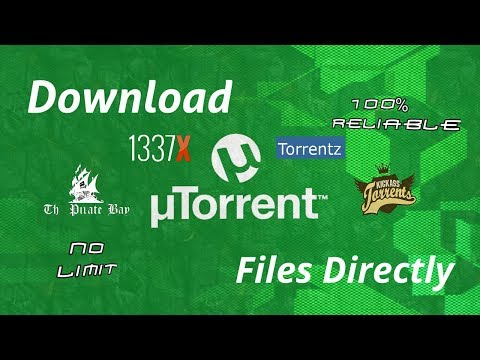 How to Download Torrent Files Directly??