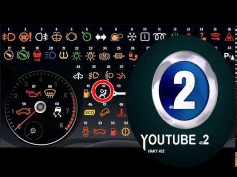 64 علامة تعرف على ماذا تعني هذه الاشارات التي تظهر في طبلون السيارة Haky402 Youtube