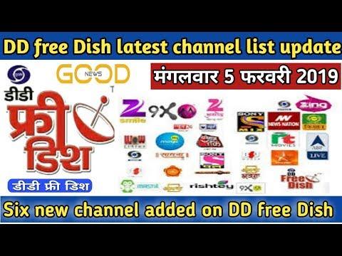 Big Breaking News DD free Dish new channel added    six new channels added   