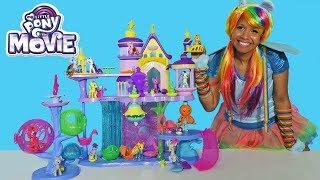 MLP The Movie Canterlot & Seaquestria Castle !     Toy Review    Konas2002