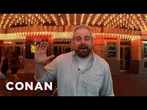 Chicago Theatre Tour With Aaron Bleyaert - CONAN on TBS