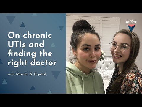 Marnie and Crystal on chronic UTIs and finding the right doctor