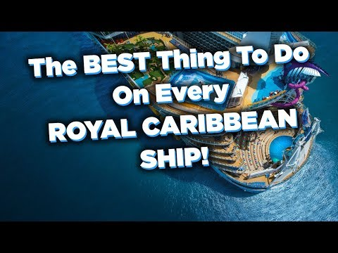 One Must-do Activity On Every Royal Caribbean Ship!