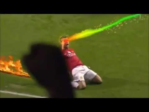 Clip 'chế' cách ăn mừng bàn thắng của siêu sao bóng đá - YouTube