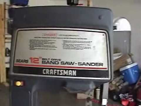Craftsman bandsaw up for auction on ebay youtube craftsman bandsaw up for auction on ebay greentooth Image collections