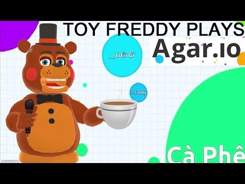 TOY FREDDY PLAYS: Agar.io