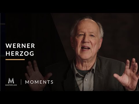 Werner Herzog's MasterClass: We are not garbage collectors