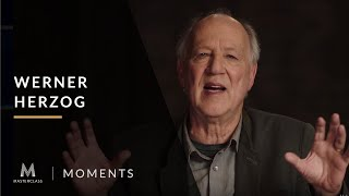 Werner Herzog: We Are Not Garbage Collectors | MasterClass Moments | MasterClass