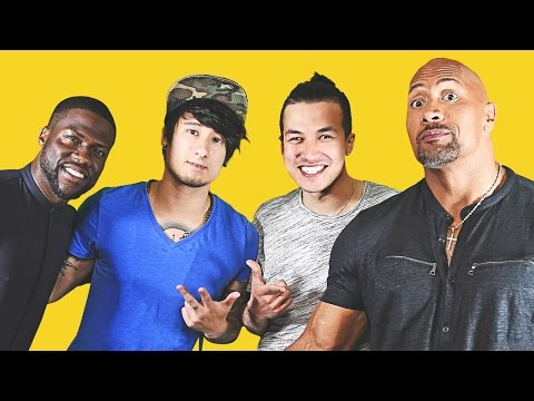 THE ROCK in REAL LIFE getroffen | Cheng